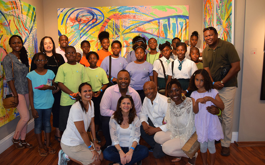GSO Hosts Public School Students in 2016 Transforming Spaces Art Tour