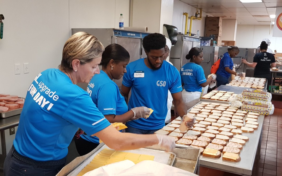 Team GSO supports Hurricane Dorian relief efforts